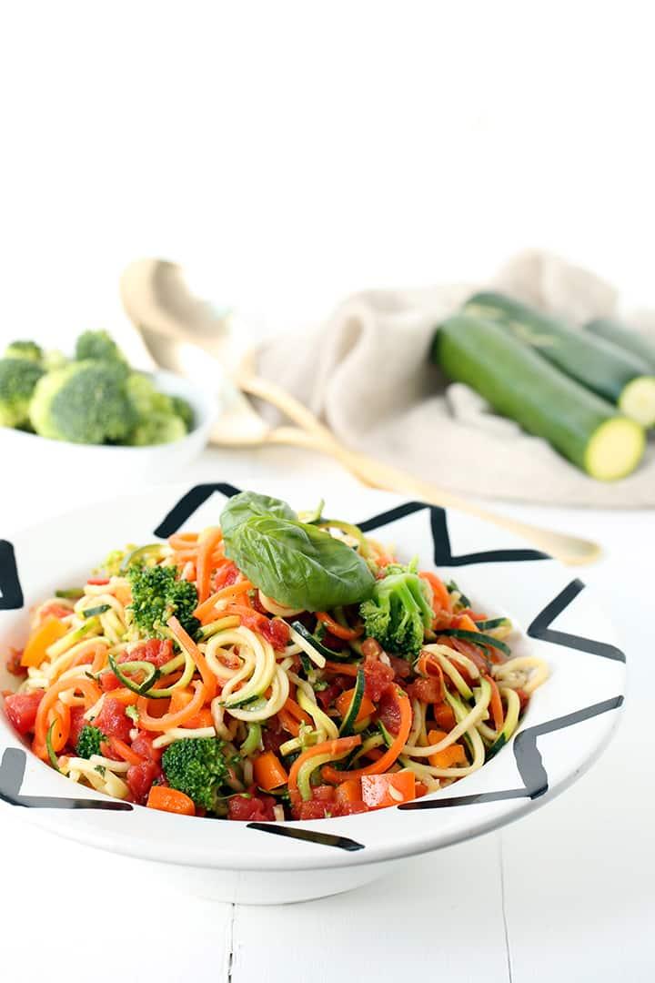 Al Fresco Zucchini Pasta Salad