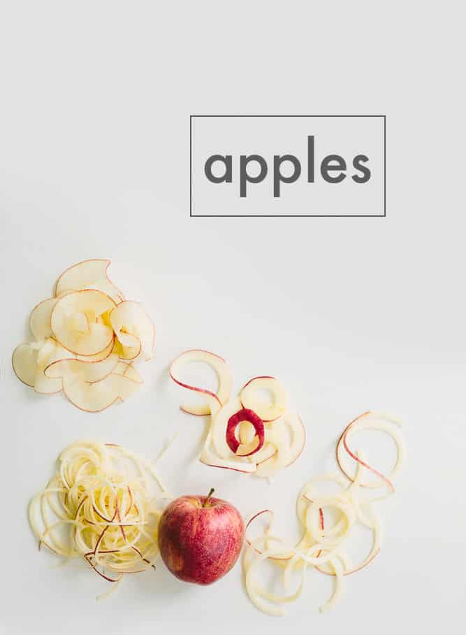 Spiralized Apples