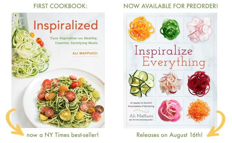The Inspiralized Cookbooks