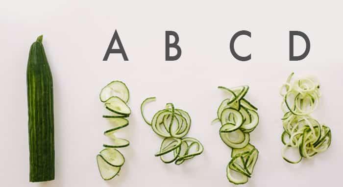 cucumber blades