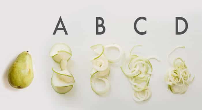 pear blades