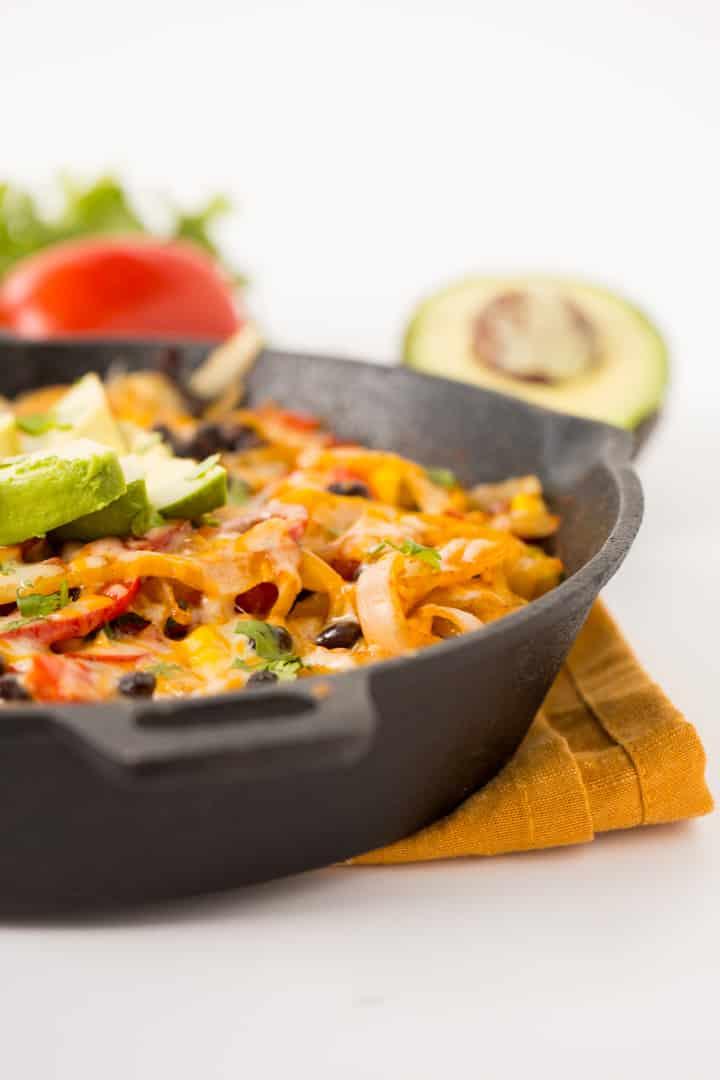 Vegetarian Bell Pepper Fiesta Skillet