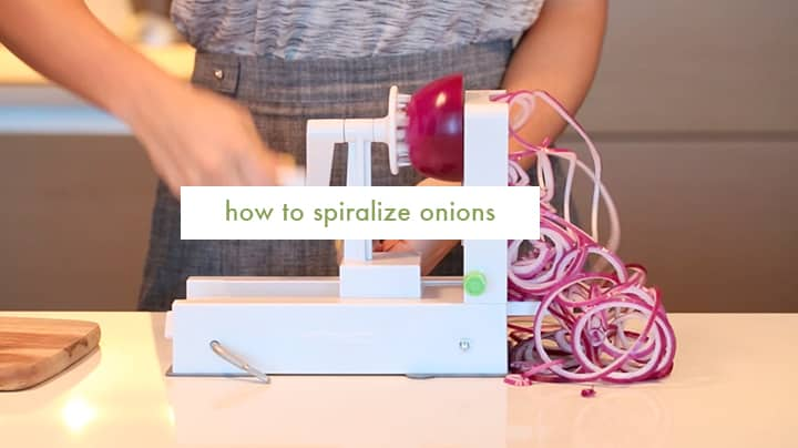 How to Spiralize Onions