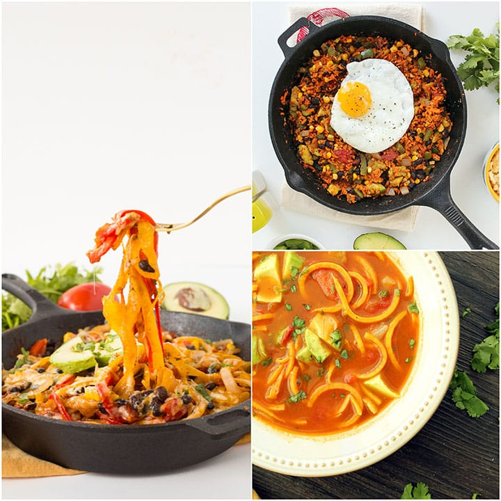 Spiralized Cinco de Mayo Recipe Roundup