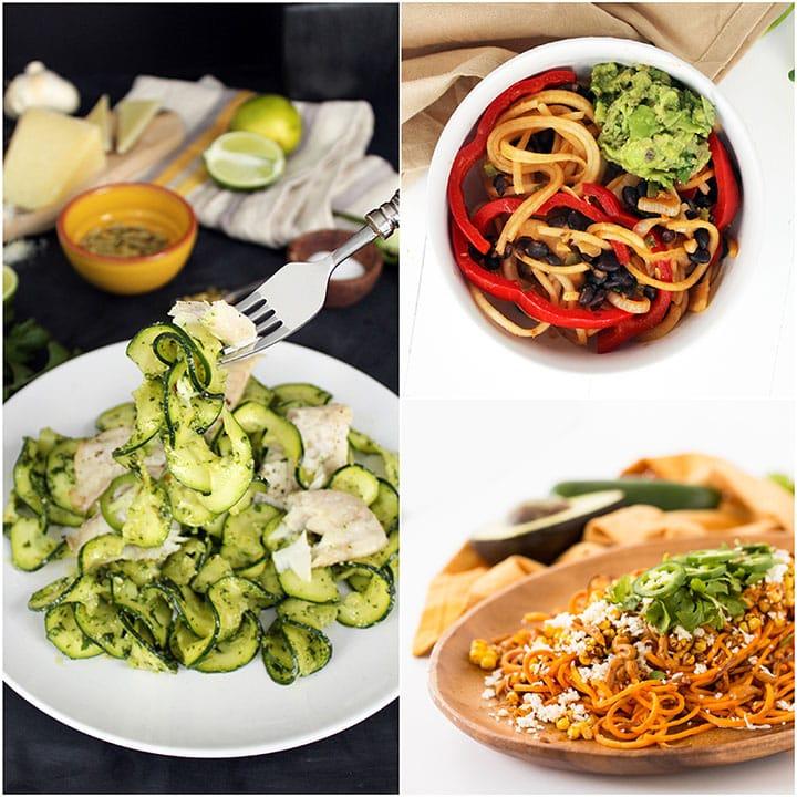 Spiralized Cinco de Mayo Recipe Roundup