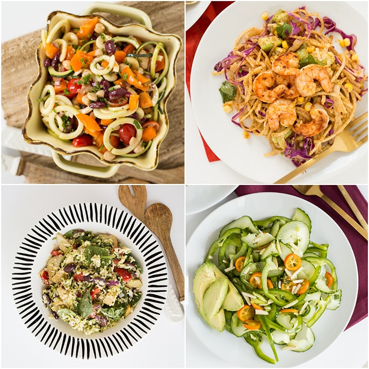 Spiralized Recipe Roundup for Memorial Day Weekend BBQs