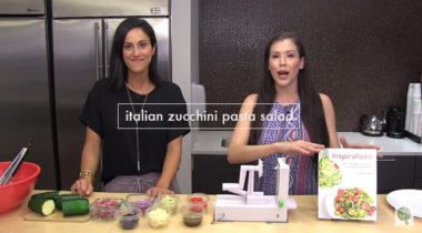 Italian Zucchini Pasta Video + The Inspiralized App 2.0