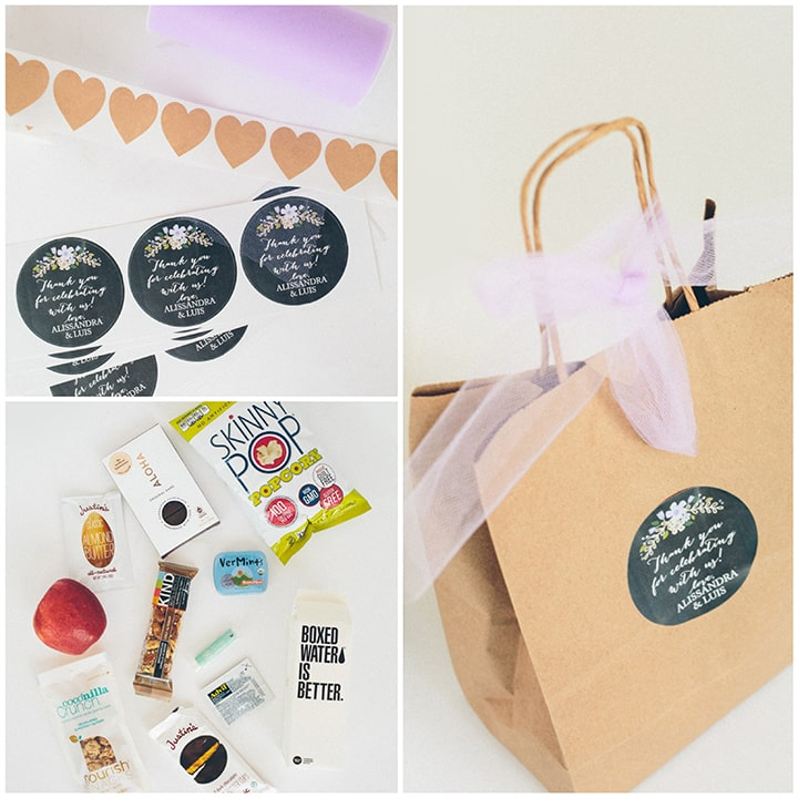 Our wedding welcome bags inspiralized our wedding welcome bags junglespirit Image collections
