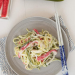 Spiralized Kani Salad