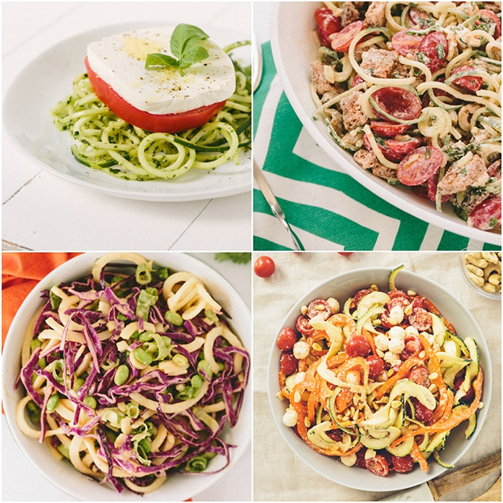 Labor Day Spiralized Recipe Roundup