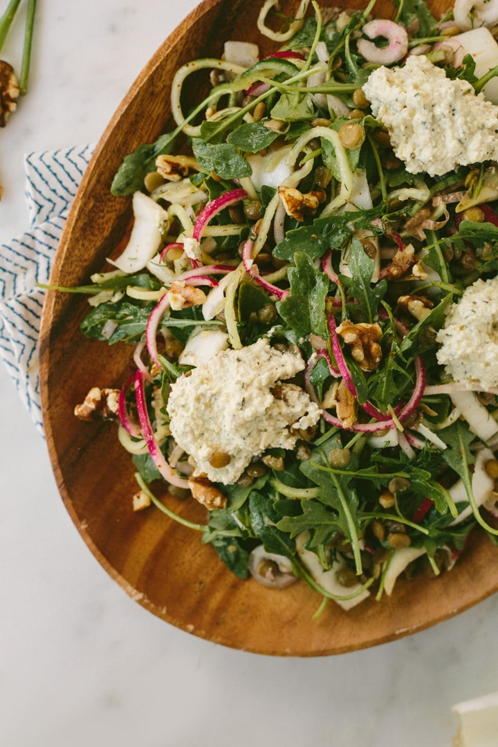 ... to this salad and make it fluffier, prettier and more fun to eat