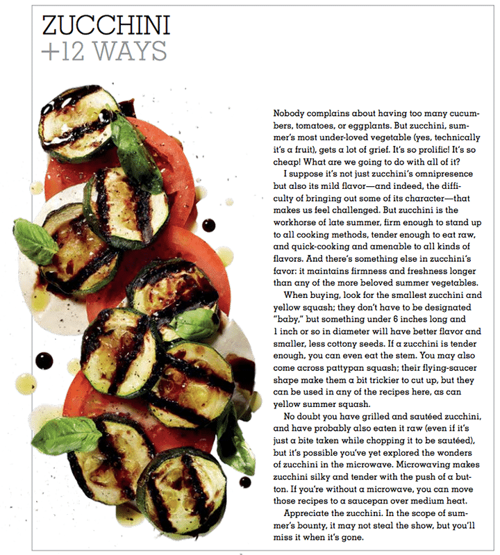 Inspiralized and Mark Bittman's Kitchen Matrix