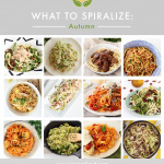 What's In Season for Spiralizing: Autumn + Nutrition Talk