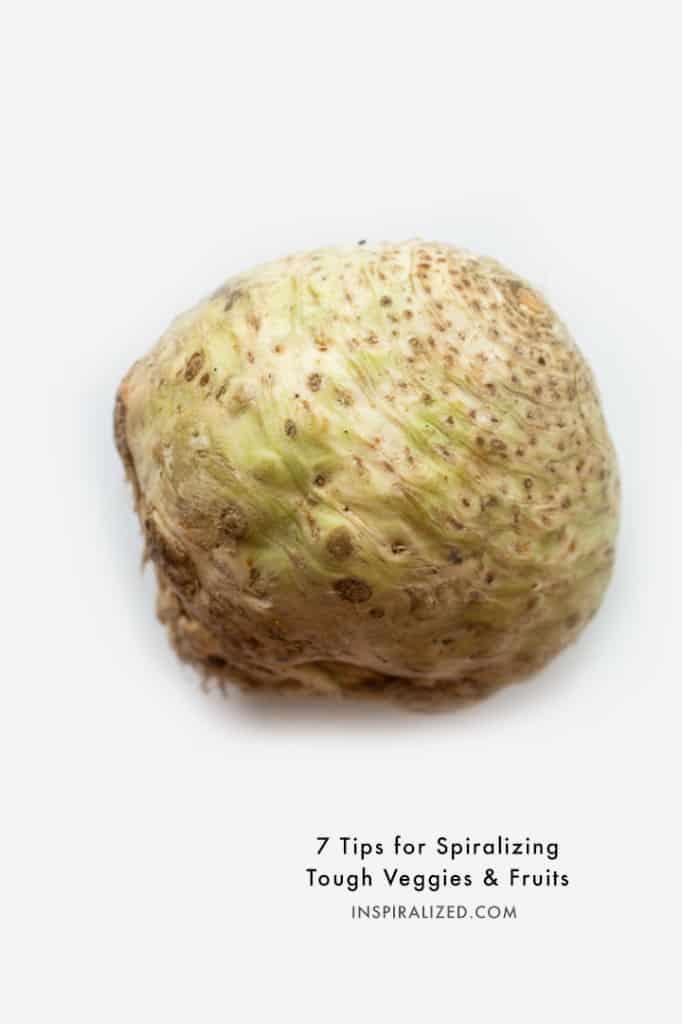 7 Tips for Spiralizing Large Vegetables