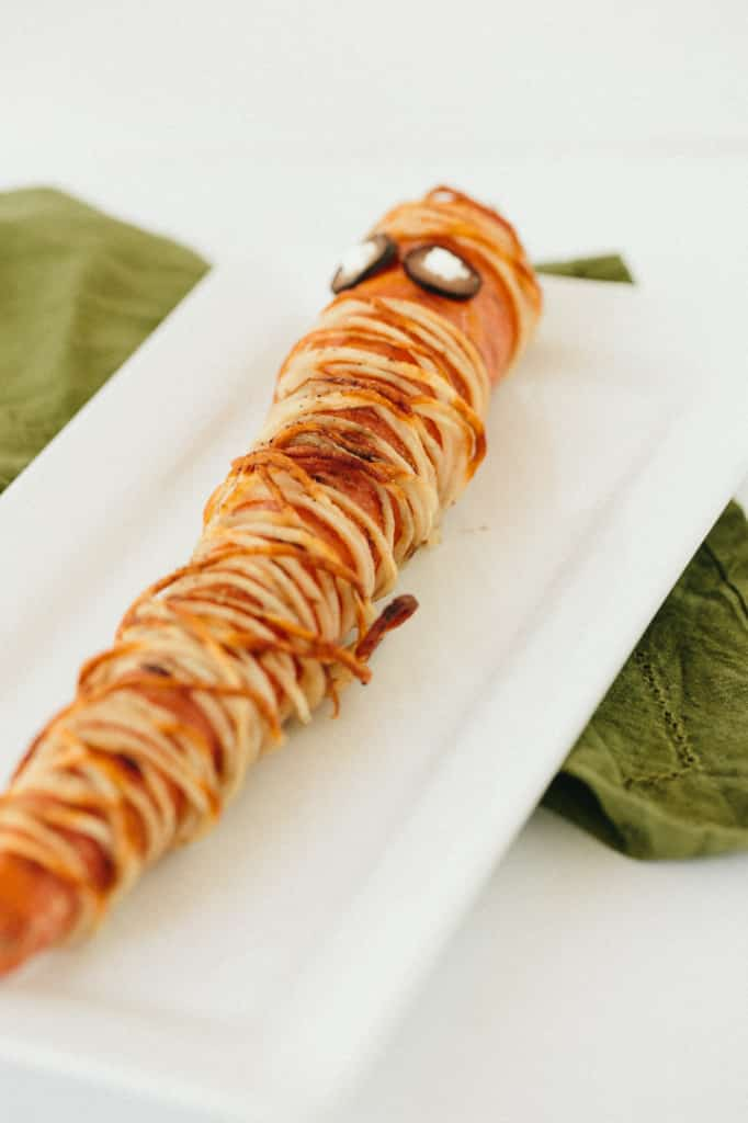 Roasted Carrot Mummies