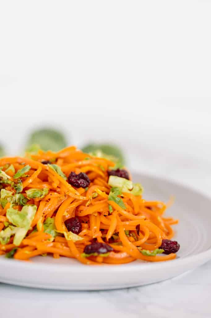 ... Sprouts and Butternut Squash Pasta with Parmesan and Cranberries