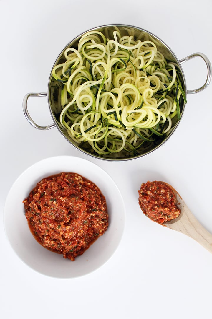 Fire Roasted Tomato and Crunchy Almond Pesto
