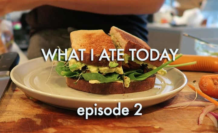 What I Ate Video inspiralized.com