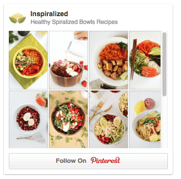 Inspiralized Pinterest