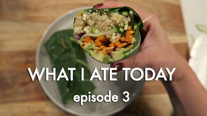 What I Ate Today: Episode 3 (Video!)