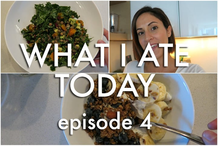 What I Ate Today Video: Episode 4