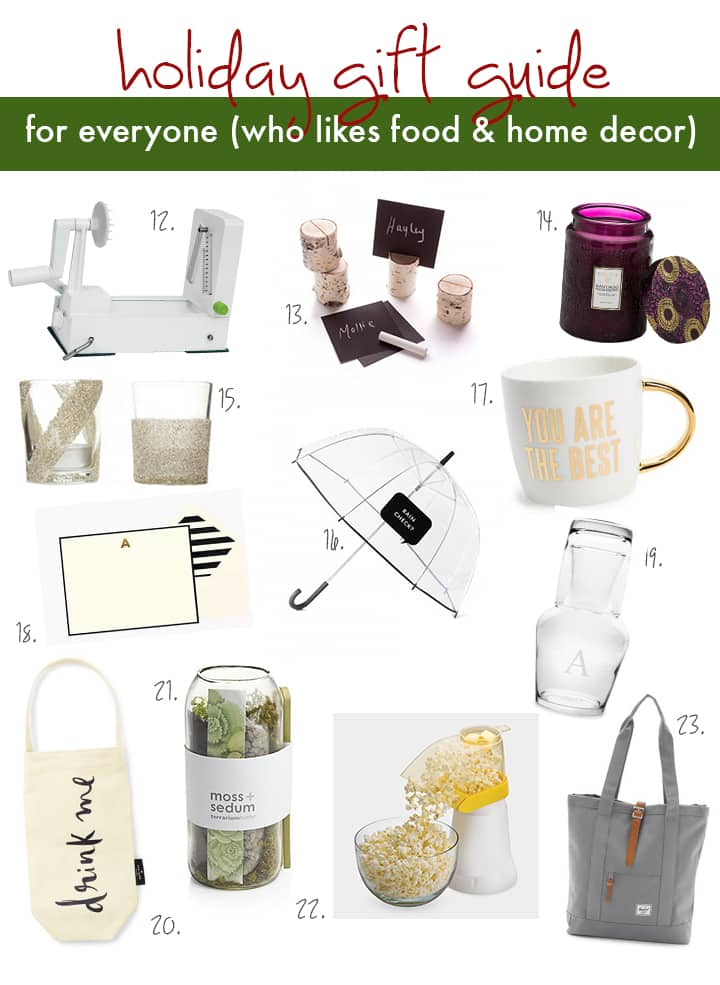 Inspiralized Holiday Gift Guide for The Everyday Person