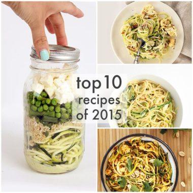 Top 10 Spiralizer Recipes of 2015