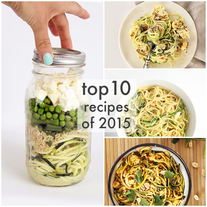 Top 10 Spiralizer Recipes of 2015
