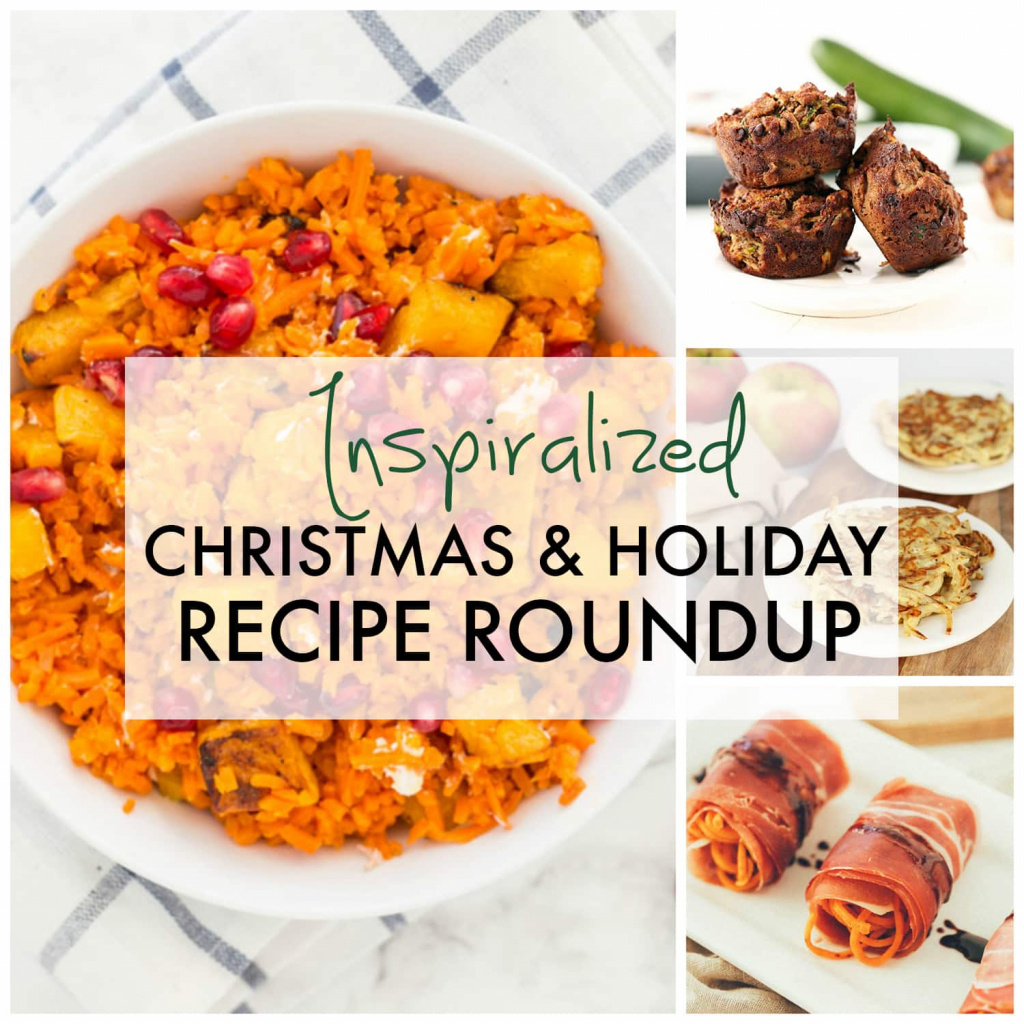 Spiralized Christmas & Holiday Recipe Roundup