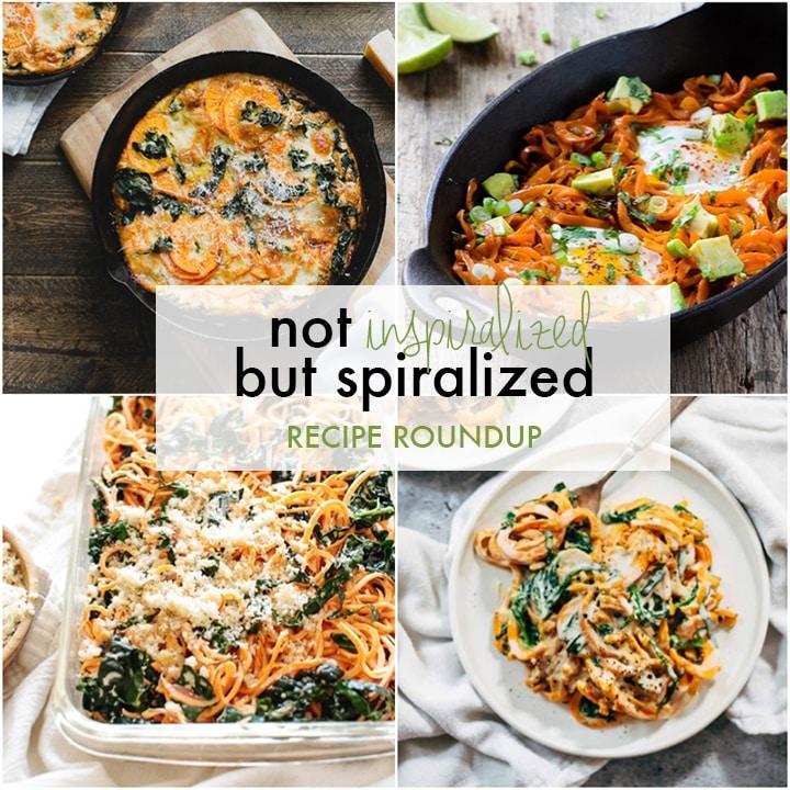 Spiralized Recipe Roundup
