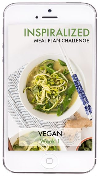 Now Available: Spiralizer Meal Plan Challenge