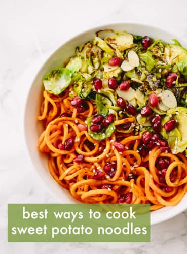 The Best Ways to Cook Spiralized Sweet Potato Noodles