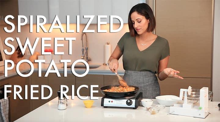 #EverydayInspiralized: Spiralized Sweet Potato Fried Rice