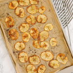 Everything Bagel Bun Spiralized Potato Chips