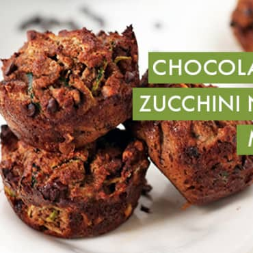 #EverydayInspiralized: Chocolate Chip Zucchini Noodle Muffins
