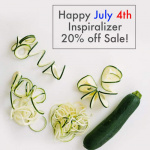 Happy July 4th + 20% off the Inspiralizer®!