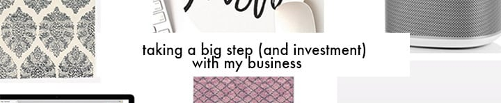 taking a big step with my business