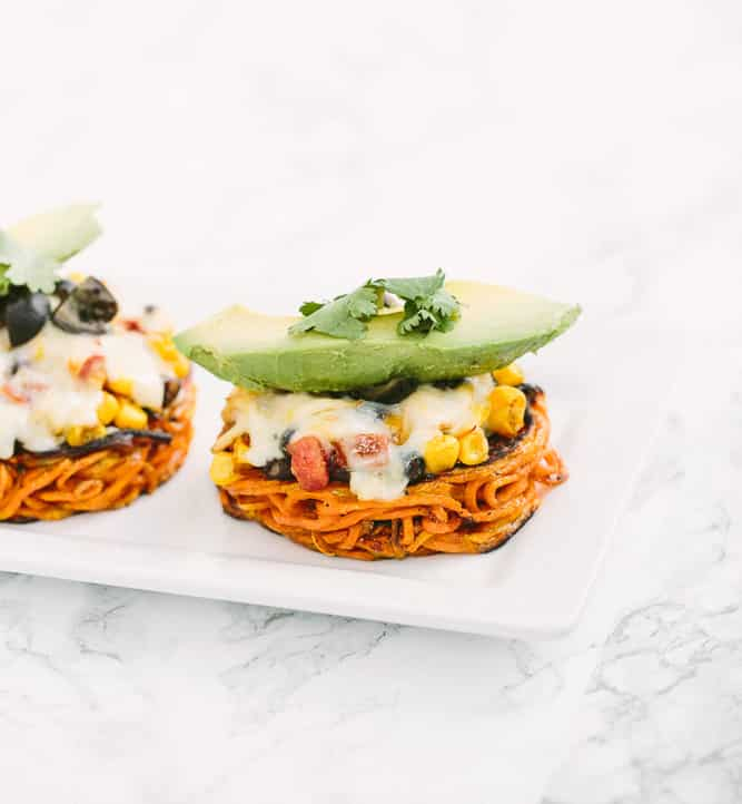 Vegan Buffalo Cauliflower Steak Sandwiches with Spiralized Apple ...