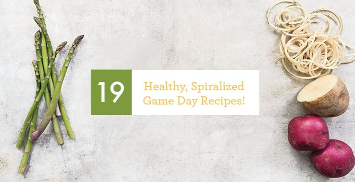 19 Spiralized and Healthy Game Day Recipes