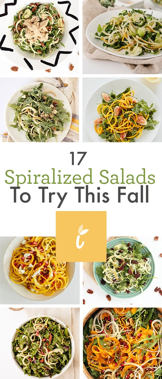 17 Spiralized Salads To Try This Fall