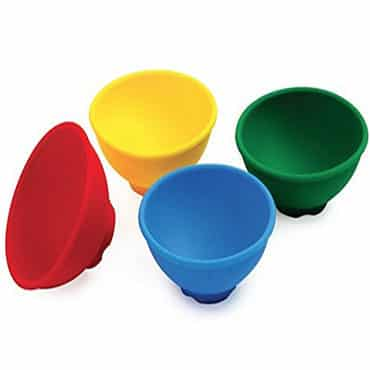 Colored pinch bowls