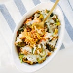 Spiralized Broccoli and Chicken Cheesy Marinara Bake