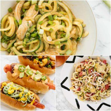 Top 10 Spiralizer Recipes of 2016