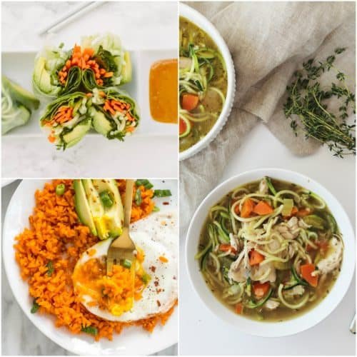 17 Spiralizer Recipes Under 300 Calories