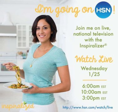 Watch Inspiralized Live on HSN!