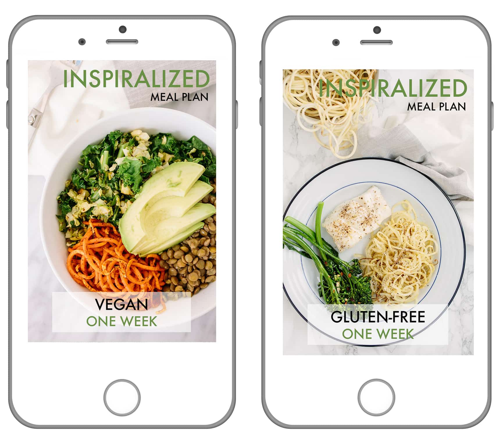 Spiralizer Meal Plans