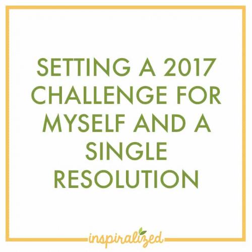 Setting a 2017 Challenge