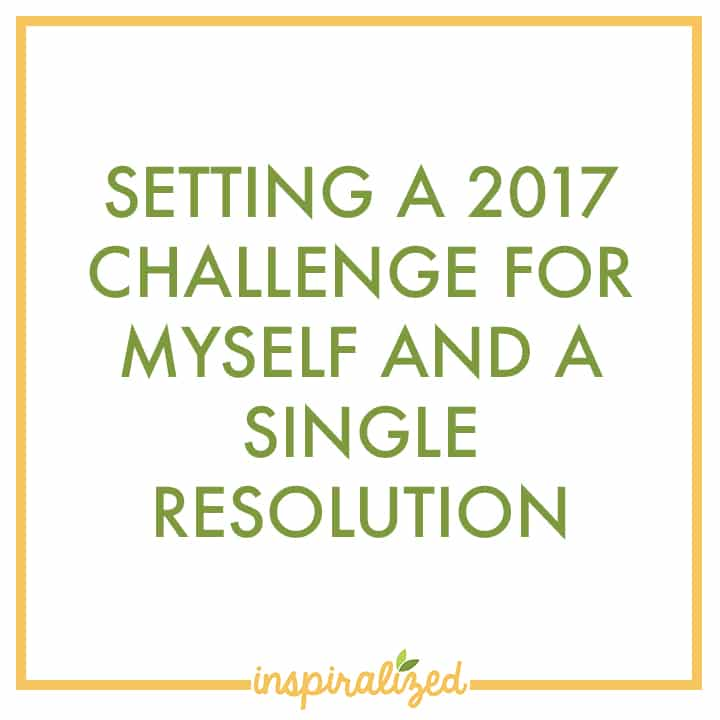 Setting a 2017 Challenge
