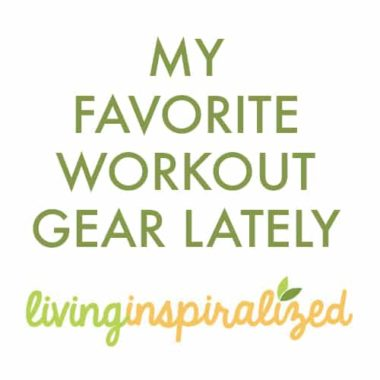 What I Ate Today + My Favorite Workout Gear Lately
