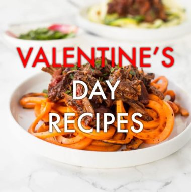 19 Spiralized Recipes to Make This Valentine's Day